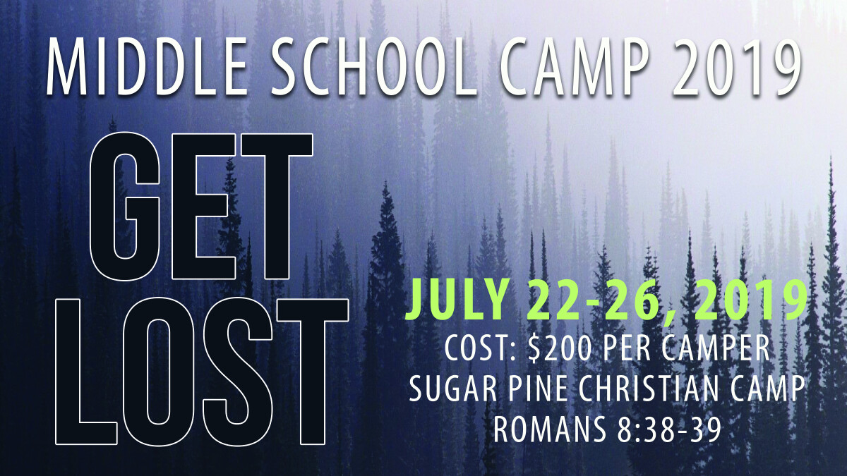 Jr. High Camp 2019
