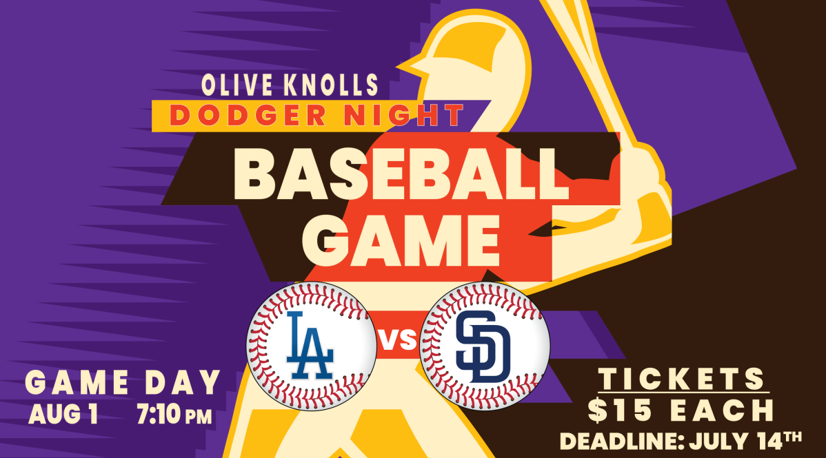 Olive Knolls Night at the Dodgers