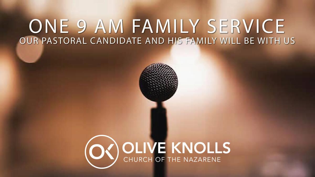 Sunday Morning Worship: 9:00 AM