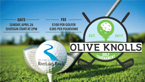 2020 Annual Olive Knolls Golf Tournament